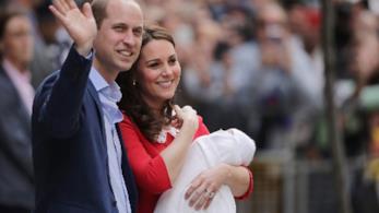 William e Kate con il terzo figlio