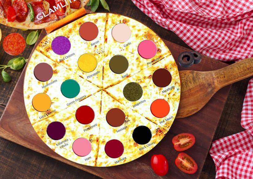 La pizza palette di Glamlite