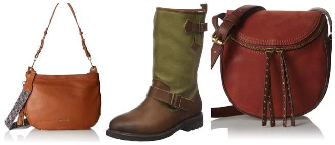 Scarpe e borse cognac e terracotta di tendenza per l'A/I 2018-19
