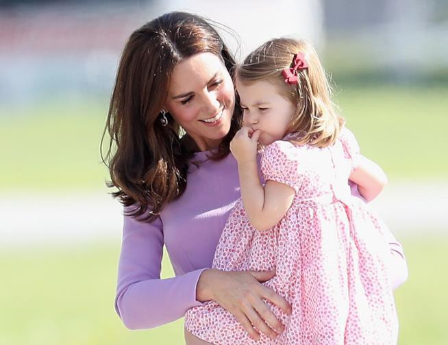 Kate Middleton e sua figlia Charlotte