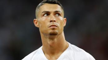 Primo piano di Cristiano Ronaldo
