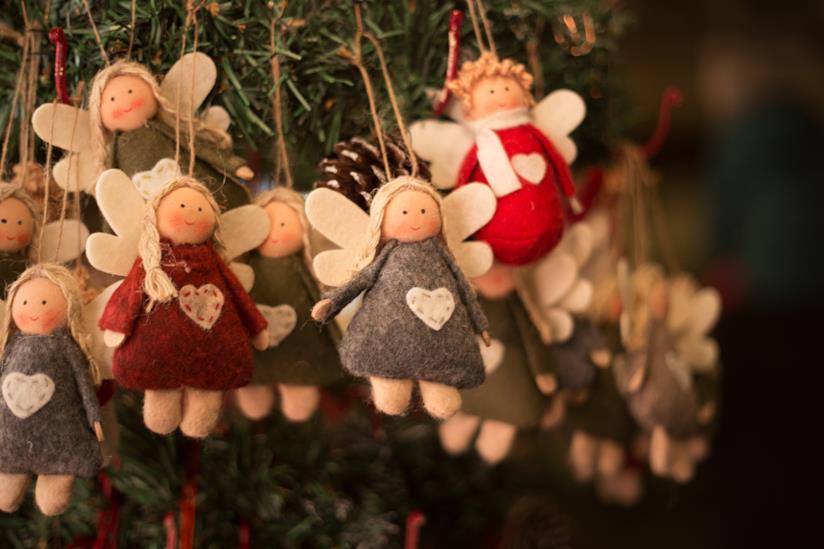 Lavoretti Di Natale Di Stoffa.Angioletti Di Natale Fatti A Mano La Guida E I Modelli Da
