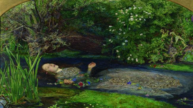 Ofelia di John Everett Millais in mostra