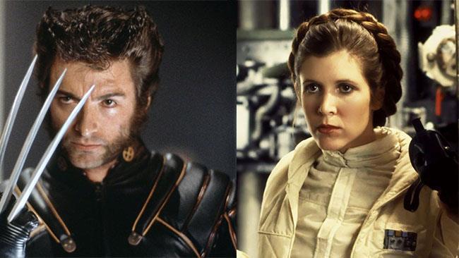 Wolverine e la Principessa Leia