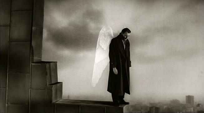 L'angelo protagonista del film di Wim Wenders