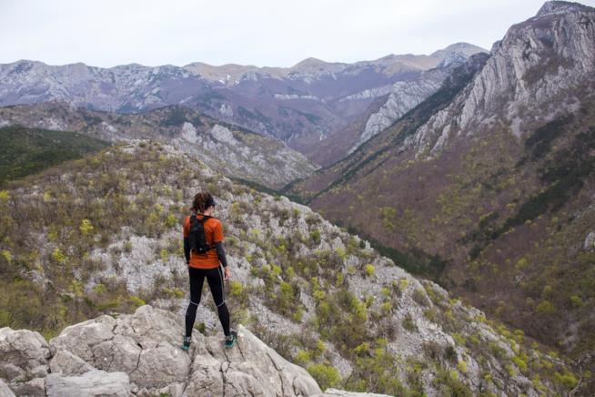 Le montagne del Parco naturale di Paklenica