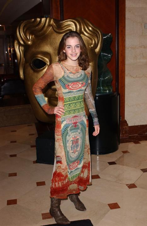 Uno dei primi abiti indossati da Emma Watson