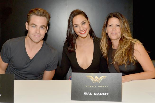 I volti di Wonder Woman: Chris Pine, Gal Gadot e Patty Jenkins