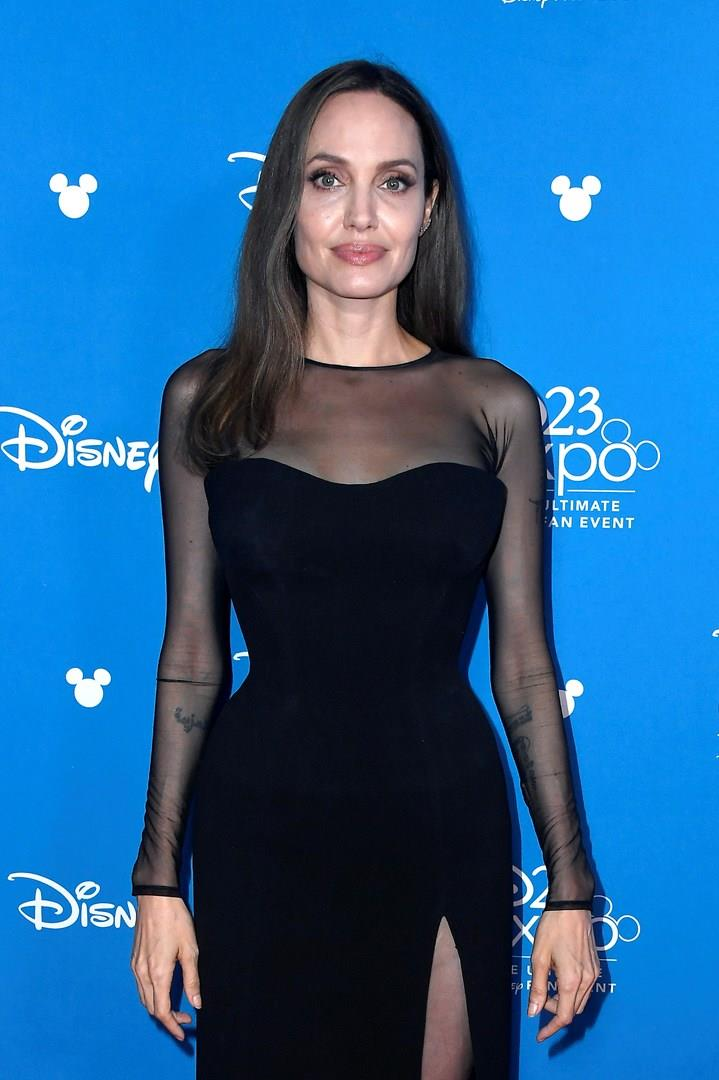 Angelina Jolie sul red carpet dell'evento D23