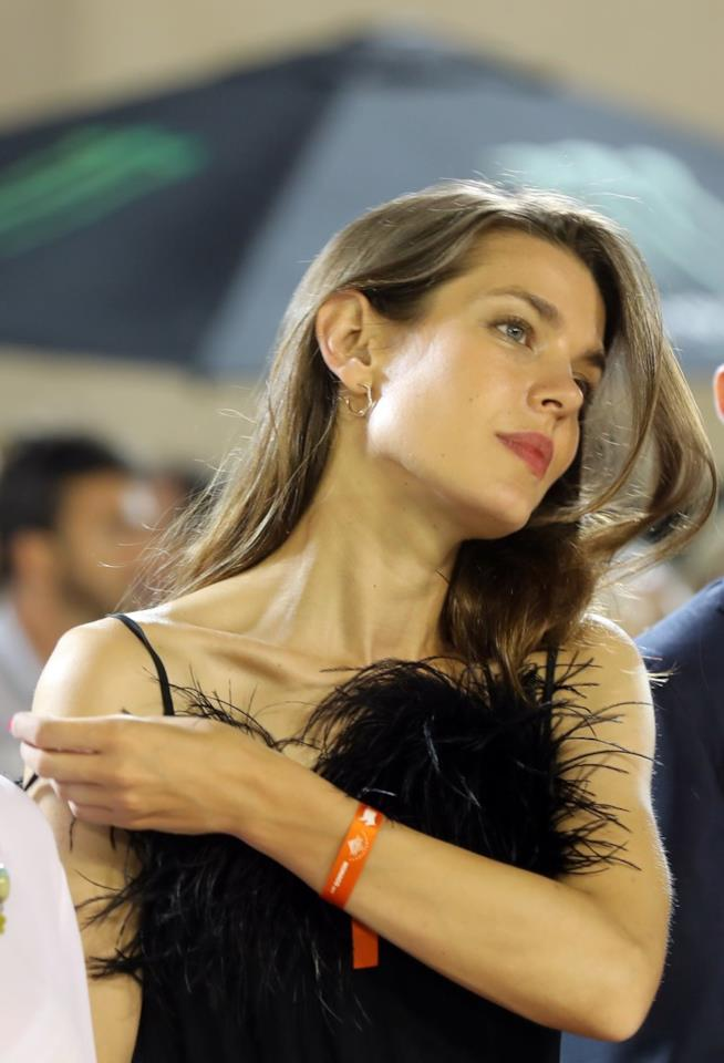 La splendida Charlotte Casiraghi di Monaco