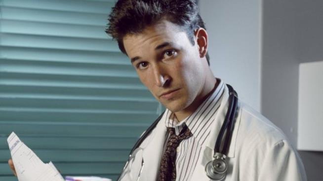 Noah Wyle nella serie di E.R. - Medici in prima linea