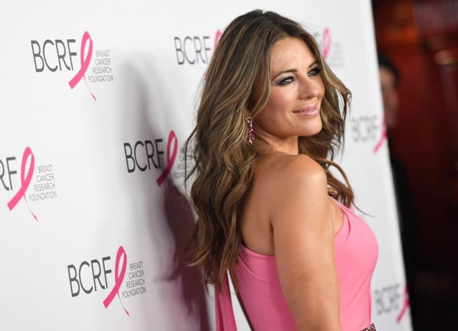 Elizabeth Hurley in posa  all'HOT PINK Party Breast Cancer Research Foundation