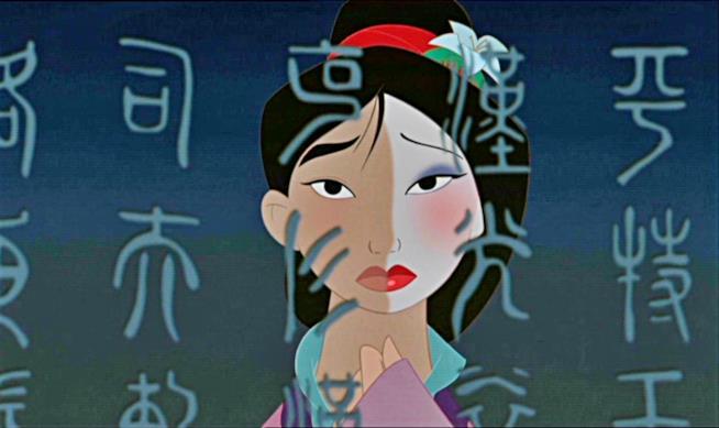 Mulan la principessa guerriera Disney