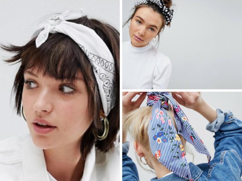 Come indossare foulard per capelli