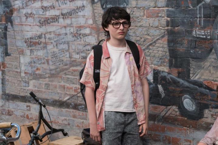 Finn Wolfhard nel ruolo di Richie in IT