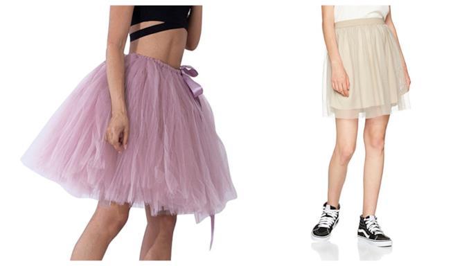 In tulle e corte, le gonne di moda primavera estate 2018