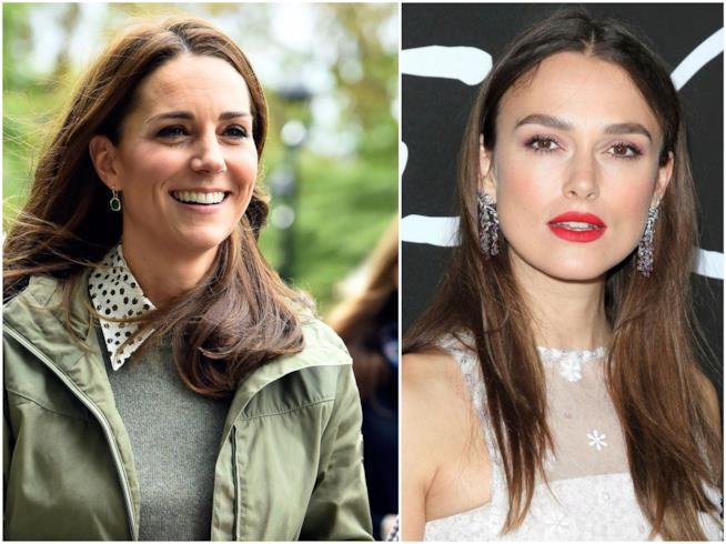 Kate Middleton e Keira Knightley