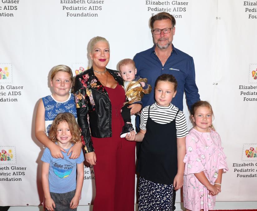 Tori Spelling, Dean McDermott e i figli