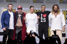 Gli attori di Justice League