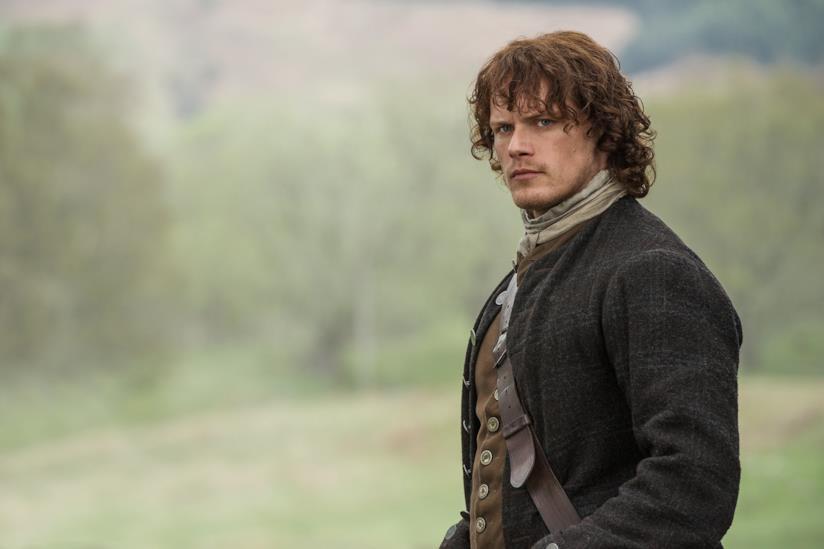 Sam Heughan in Outlander