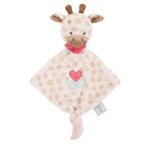 Doudou con testa a forma di giraffa