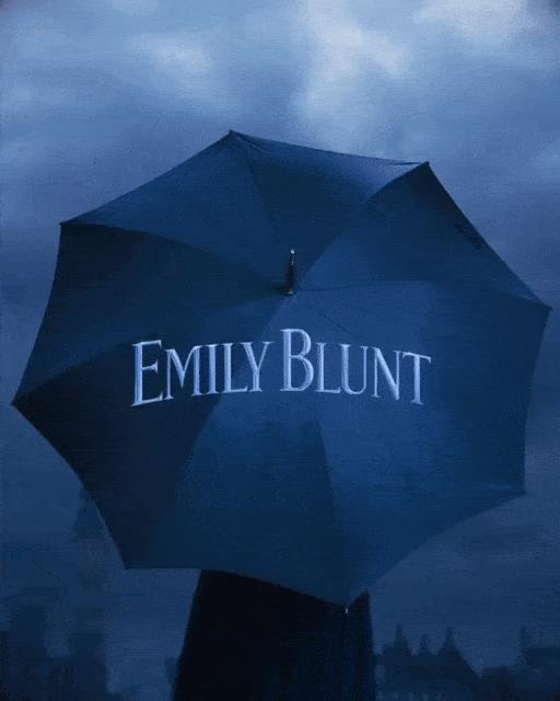 Emily Blunt nei panni di Mary Poppins