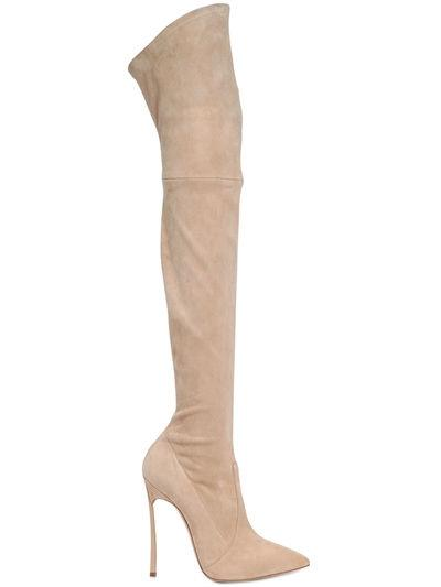 Stivali cuissardes di Casadei da regalare a Natale
