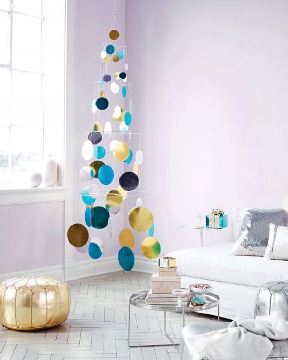 Albero di Natale con sfere