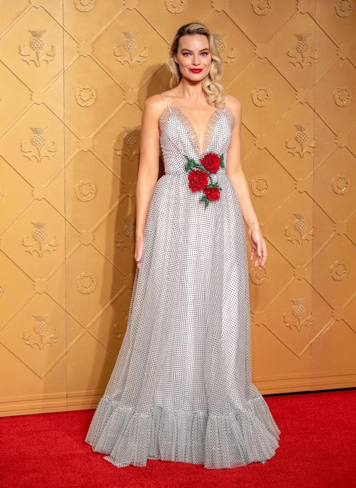 Margot Robbie sul red carpet