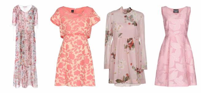 Abiti stampa floreale moda primavera 2018