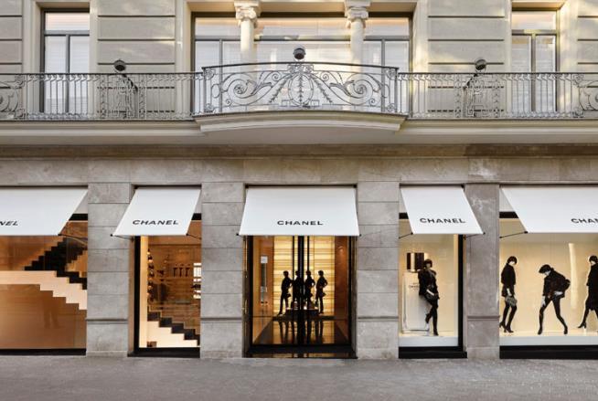 Un negozio di Chanel