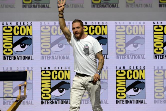 Tom Hardy al San Diego Comic-Con