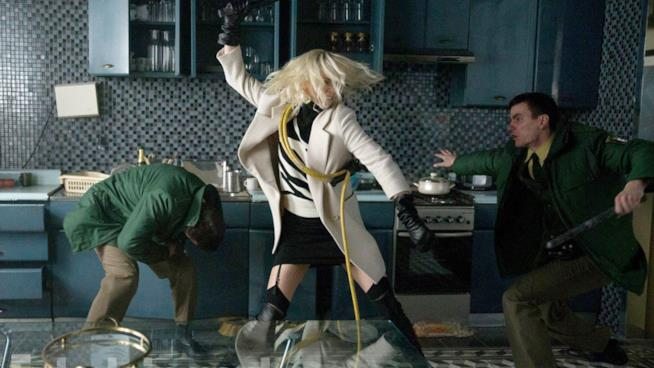 Charlize Theron in Atomica Biona