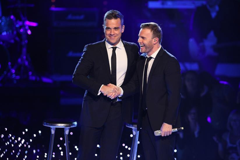 Robbie Williams e Gary Barlow