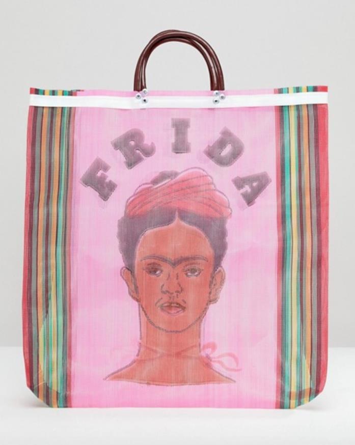 Borsa Frida Kahlo per l'estate