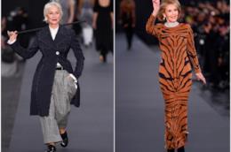 Helen Mirren e Jane Fonda in passerella per L'Oréal