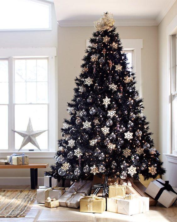 Albero di Natale nero