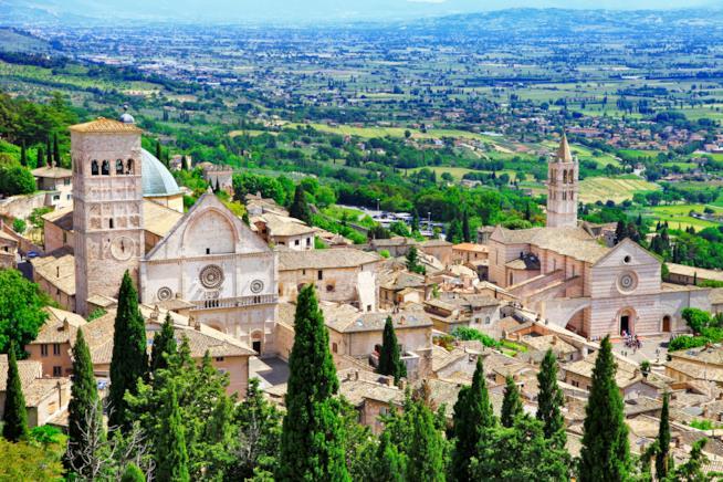 Vista di Assisi