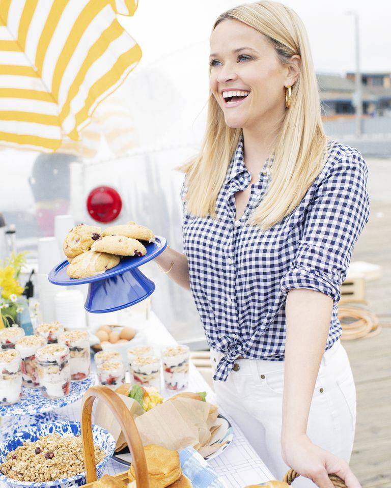 Reese Witherspoon sul set di Big Little Lies 2