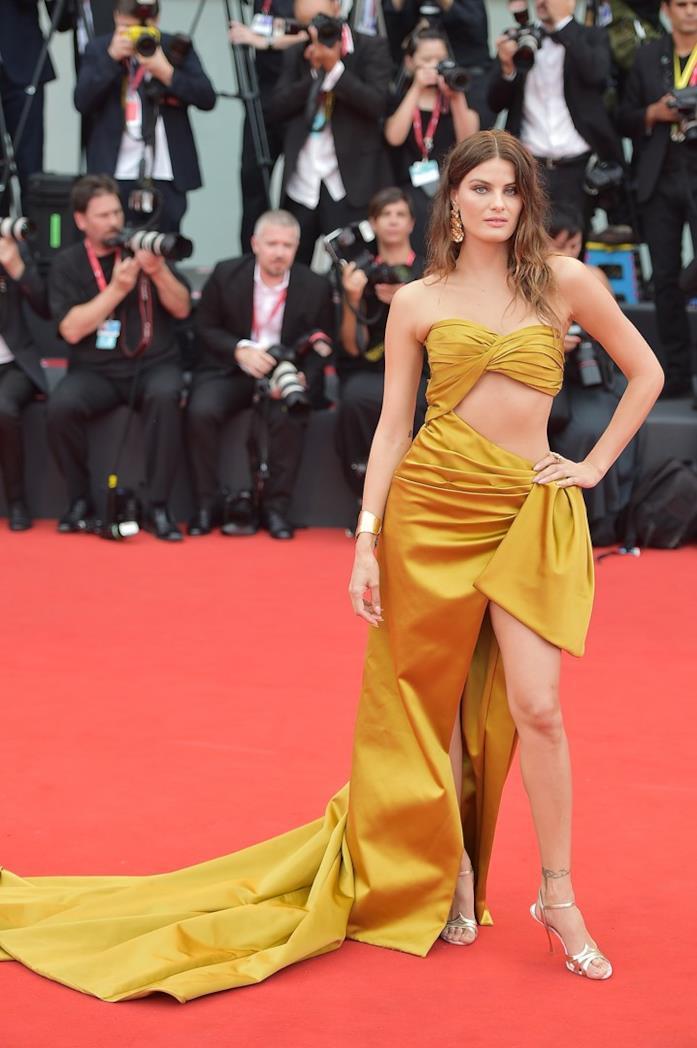 Isabeli Fontana sul red carpet