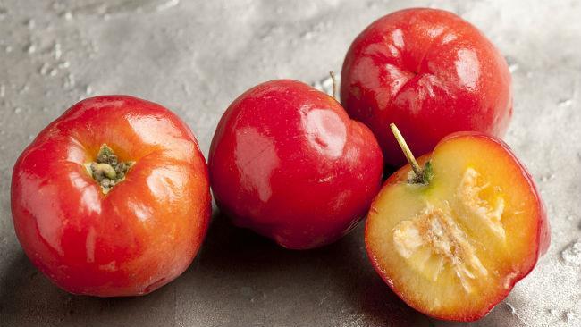L'acerola è il frutto con maggior contenuto di vitamina C