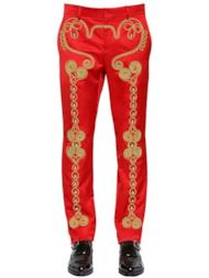 Pantaloni Circus con decorazioni