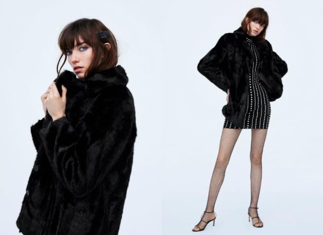 Faux fur in pelliccia sintetica