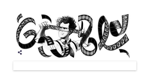 Il doodle dedicato a Sergej M. Ėjzenštejn