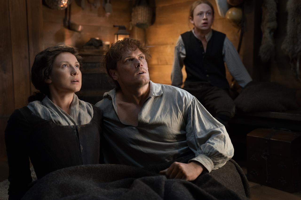 Jamie, Claire e Ian sorpresi