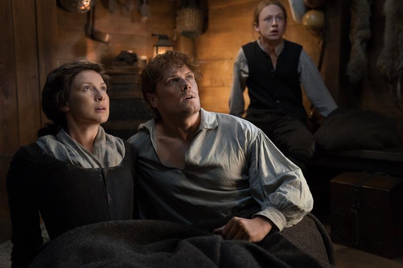 Claire, Jamie e Ian hanno paura