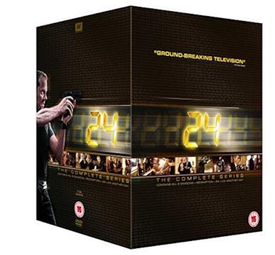 Cofanetto DVD di 24 - Seasons 1-8