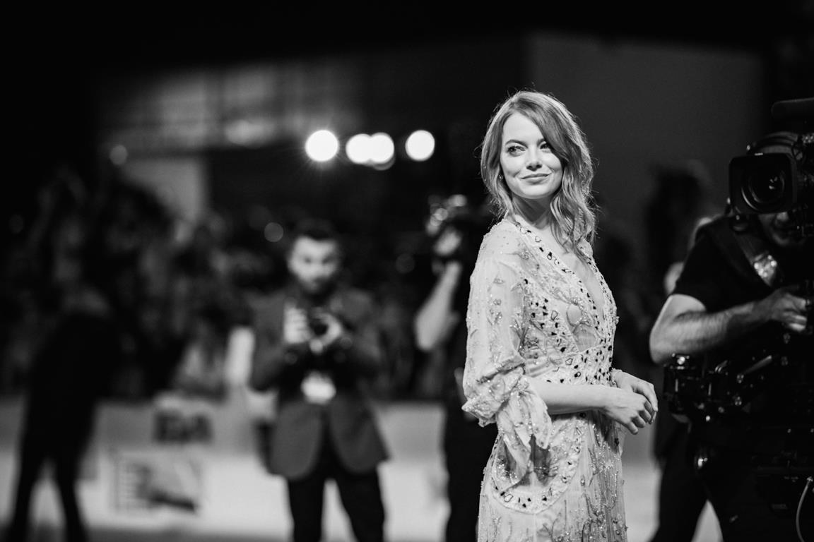 Emma Stone a Venezia in primo piano