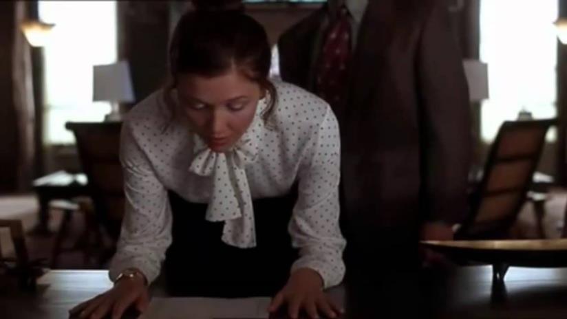 Una scena del film Secretary