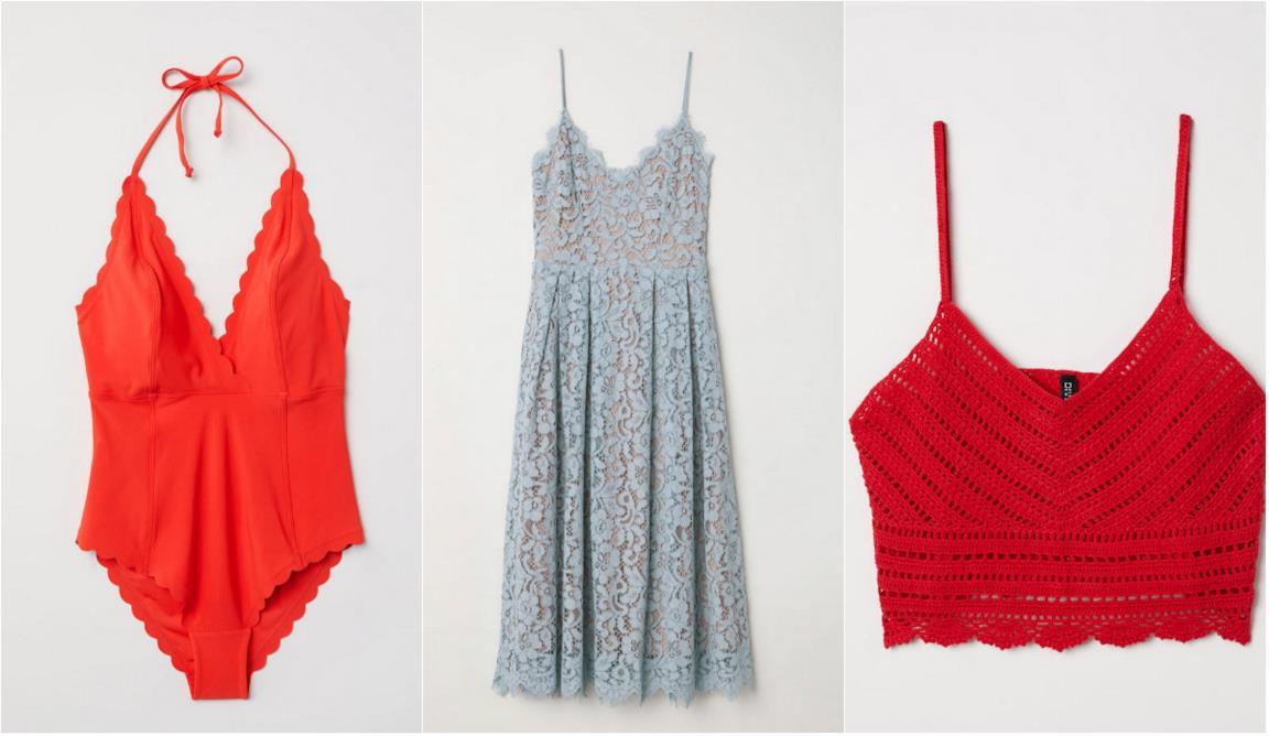 Collage di articoli H&M